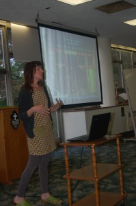 Laura Presenting