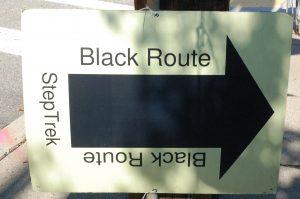 Black Route Slider